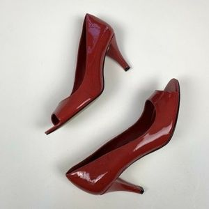 Enzo Angiolini Heel Red Patent  Sz 6